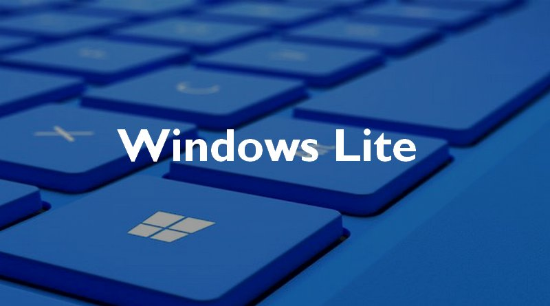 Windows Lite, futur concurrent de Chrome OS ?