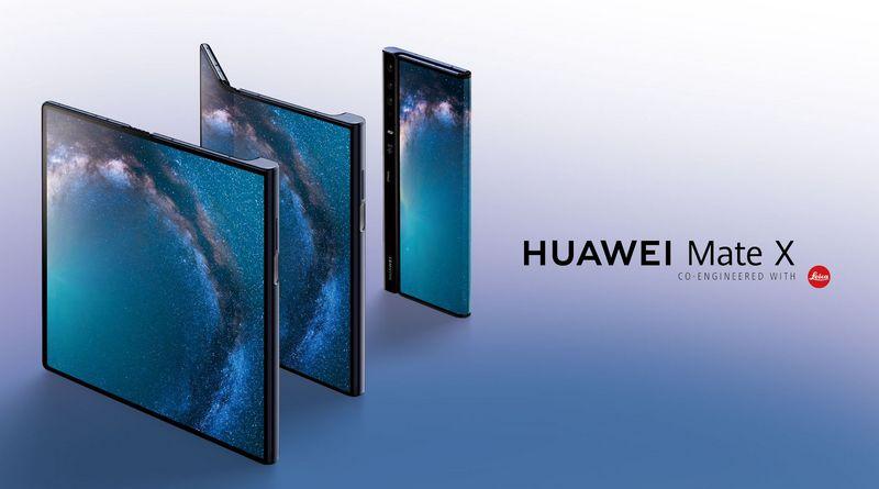 Huawei Mate X : déjà un concurrent au Galaxy Fold