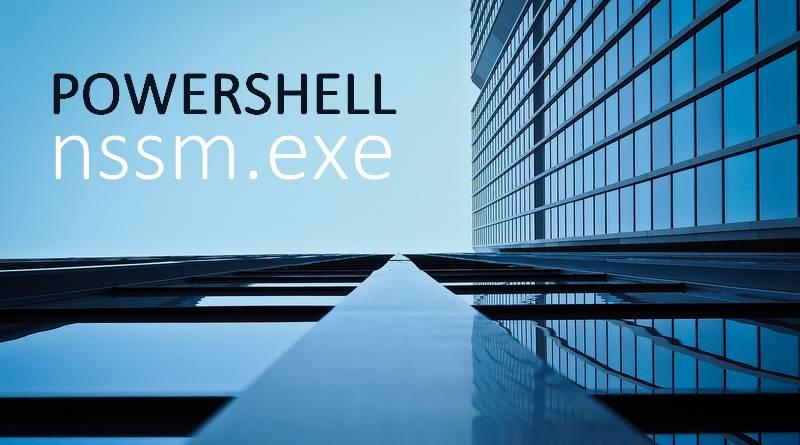 Comment exécuter un script PowerShell comme service ?
