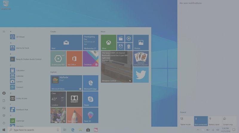 Windows 10 19H1 (Mai 2019) : les nouveautés principales