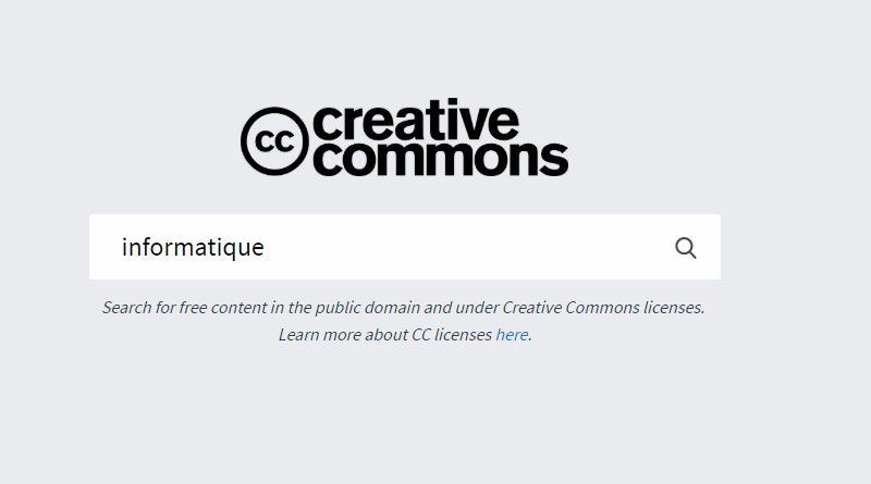 CC Search : 300 millions d'images gratuites