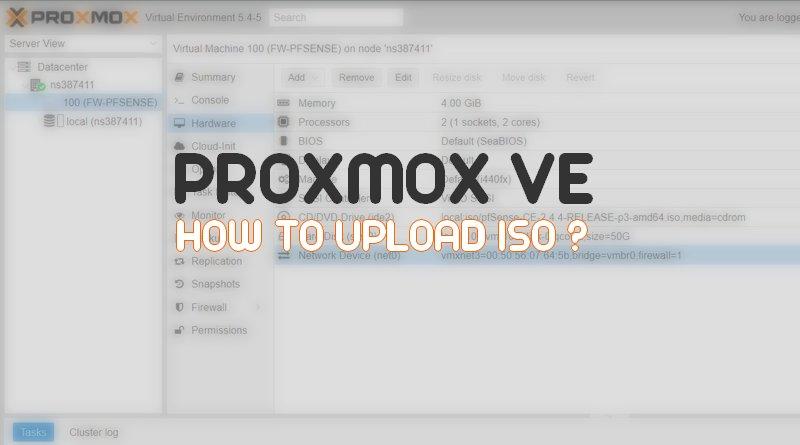 Comment télécharger un ISO sur Proxmox VE ?