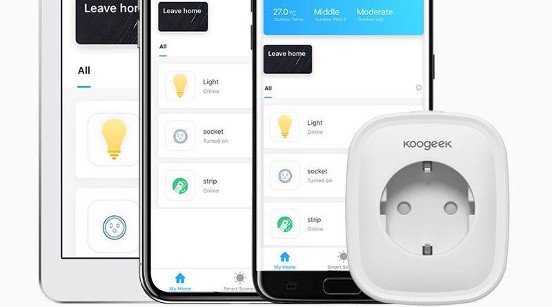 Test de la prise connectée Wi-fi Koogeek Smart Plug KLSP1
