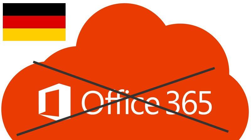 En Allemagne, Windows 10 et Office 365 sont interdits dans les écoles !