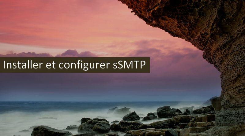 Comment installer et configurer sSMTP sur CentOS 7.6 ?