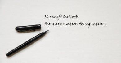 La signature Outlook bientôt synchronisée entre vos appareils