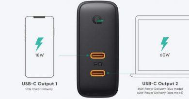 AUKEY PA-D5 : double USB-C et 63 Watts, la puissance au rendez-vous