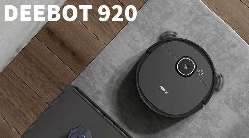 Test Deebot Ozmo 920 : complet et séduisant à la fois