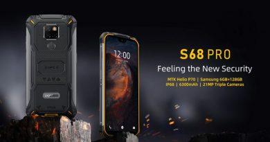 Doogee S68 Pro : un nouveau smartphone IP68 et IP69k
