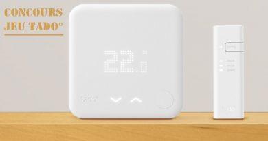 [Concours] Tentez de remporter un kit thermostat connecté Tado°