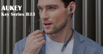 Test AUKEY Key Series B33, les nouveaux écouteurs tour de cou d'AUKEY