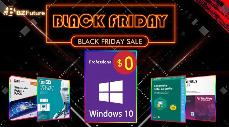 Bon plan : une licence antivirus achetée = Windows 10 Pro offert