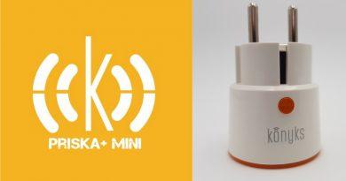 Test Konyks Priska+ Mini : une prise connectée compacte de 16A