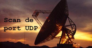 Technique de scan de port UDP