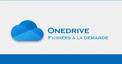 OneDrive et les fichiers à la demande