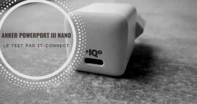 Test Anker PowerPort III Nano : un chargeur mural très compact !