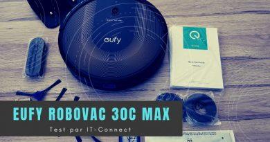 Test Eufy RoboVac 30C Max