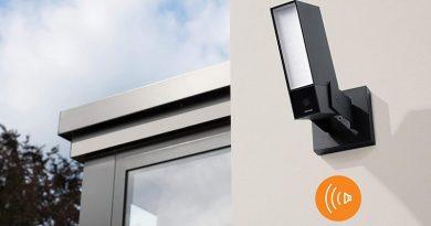 Netatmo dévoile une caméra d'extérieur équipée d'une alarme