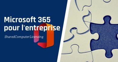Déploiement Office 365 ProPlus : ODT et Shared Computers