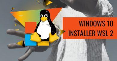 Installer WSL 2 sur Windows 10