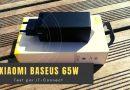 Test Xiaomi Baseus 65W GaN : un nouveau compagnon de voyage
