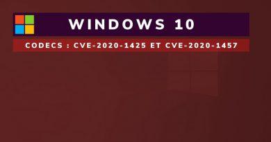 Microsoft corrige deux failles dans les codecs de Windows 10