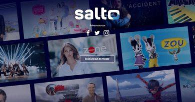 Salto, la plateforme de streaming de TF1, M6 et France TV est en ligne !