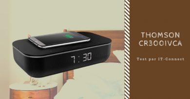 Test Thomson CR300IVCA : une station d'accueil avec Alexa