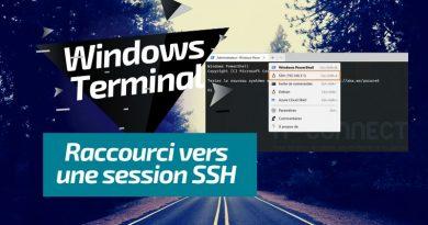 Windows Terminal : ajouter une session SSH