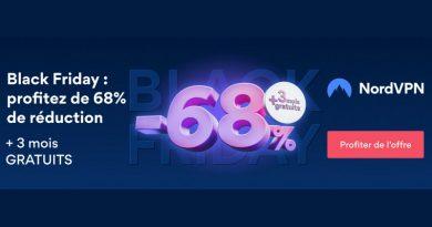 Black Friday 2020 : -68% et 3 mois offerts chez NordVPN