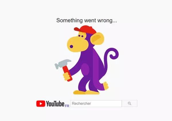 Panne chez Google