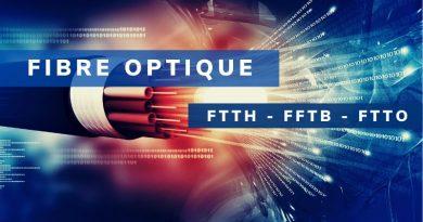 Fibre Optique : FTTH, FTTB et FTTO