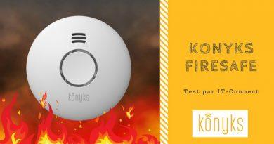 Test Konyks FireSafe, un détecteur de fumée connecté abordable