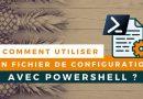 Créer un fichier de configuration PSD1 pour un script PowerShell