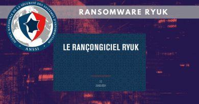 Ransomware Ryuk : une variante capable de se propager sur un réseau