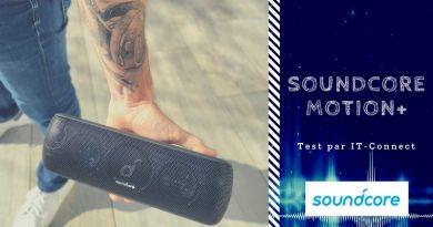 Test Soundcore Motion+ : mon avis sur cette enceinte Bluetooth