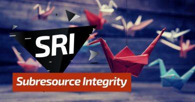 SRI : Contrôle d'intégrité des ressources web externes