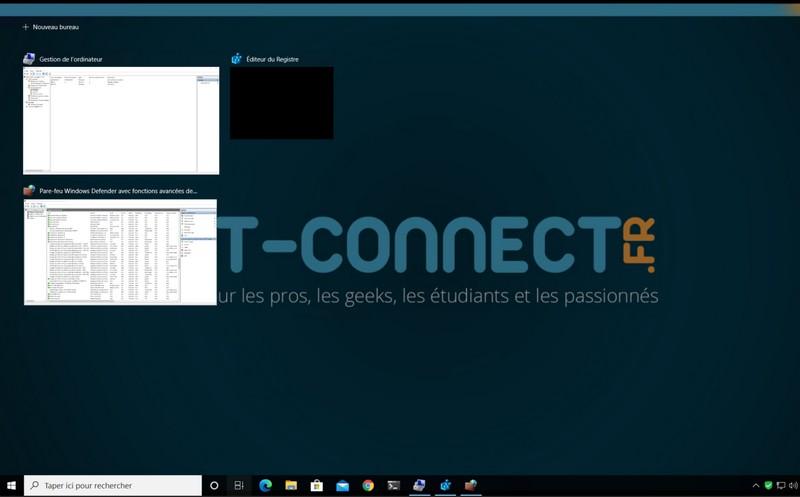 Historique des activités Windows 10