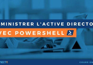 Administrer l'Active Directory avec PowerShell
