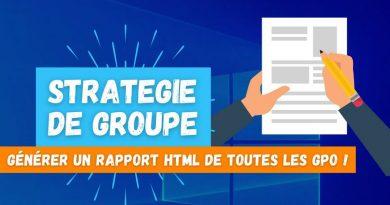 Comment créer un rapport HTML de toutes les GPO avec PowerShell ?