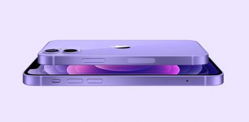 iPhone 12, en violet