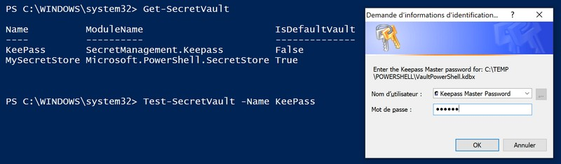 Test-SecretVault - KeePass