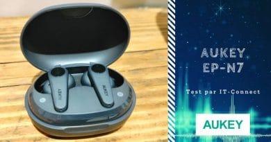 Test des écouteurs sans-fil Aukey EP-N7