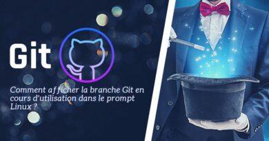 Linux – Afficher la branche Git dans le prompt