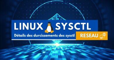 Détails des durcissements des sysctl sous Linux : sysctl réseau