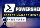 PowerShell : utiliser Secret Management avec KeePass