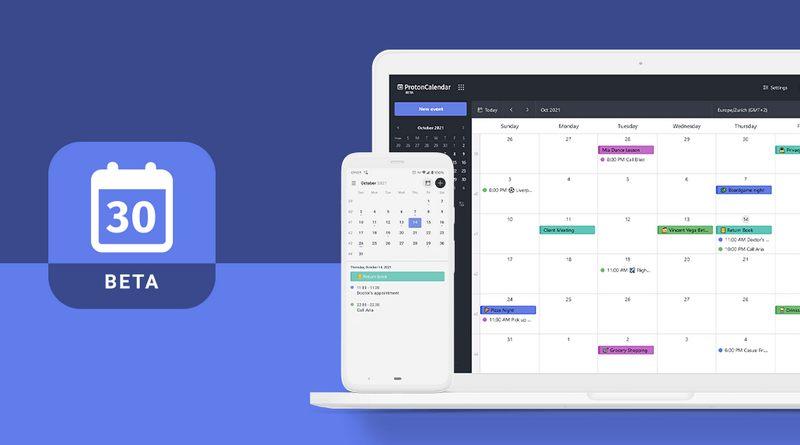 ProtonMail ouvre la bêta de ProtonCalendar à tous les utilisateurs