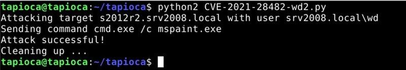 Exchange CVE-2021-28482