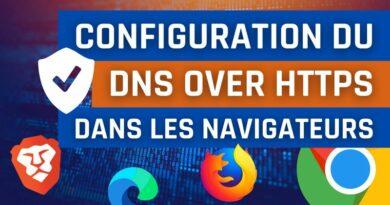Configuration du DNS over HTTPS dans les navigateurs
