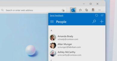 Microsoft : l'extension Outlook est disponible pour Edge, en preview